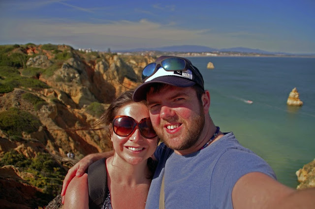 Couple in Lagos Portugal