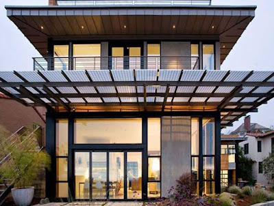 Kanopi Rumah Minimalis Modern (Desain Menarik)