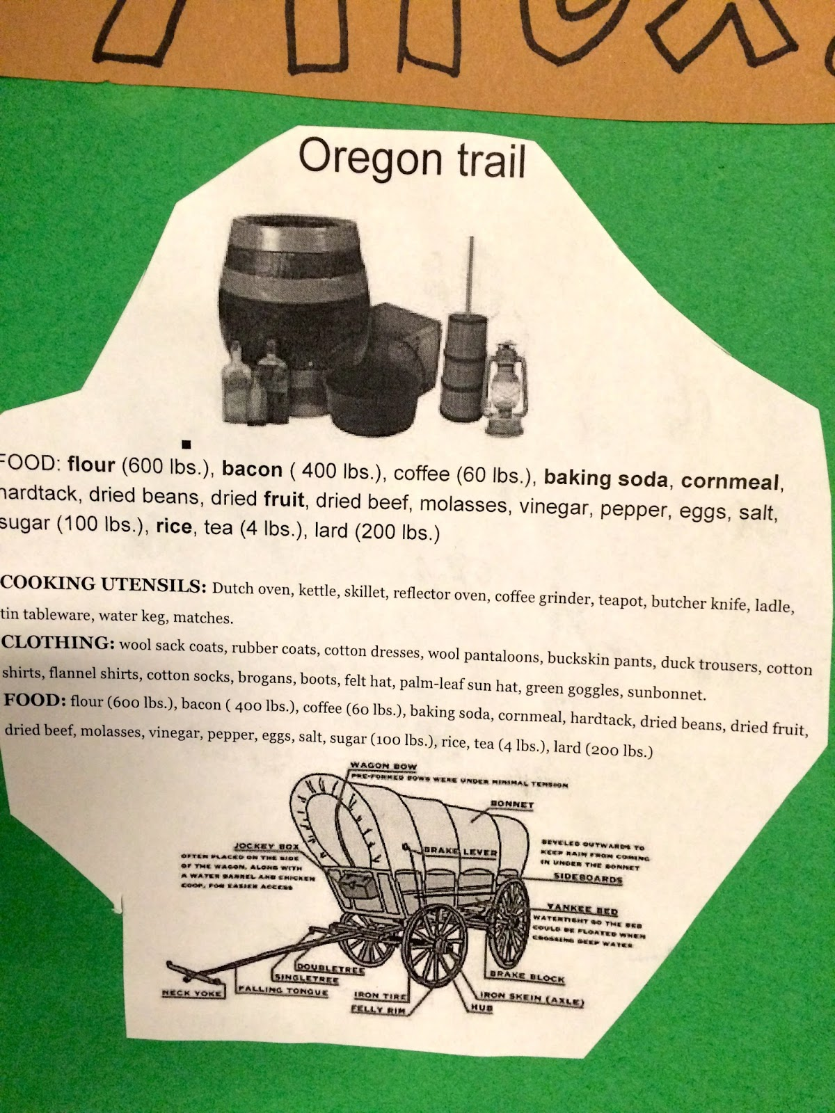 Mrs  Tanksley's Classroom Blog: Oregon or Bust!
