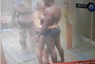 #BBNaija 2018: Housemates Nina, Miracle Caught Kissing (VIDEO)