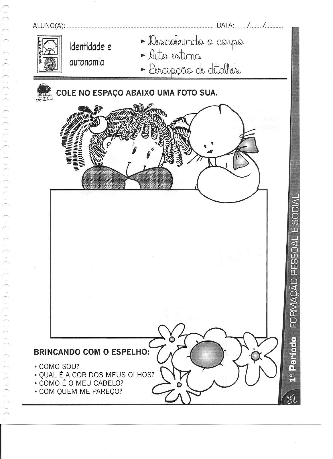 Jornal Ponto Com No Meu Jardim Vol3 Atividades