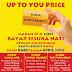 Promo D'cost Terbaru Up To You Price, Makan Sepuasnya Bayar Sesuka Hati