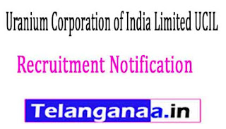 Uranium Corporation of India Limited UCIL Recruitment Notification 2017