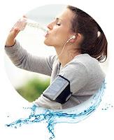 Καρδιοαναπνευστική άσκηση και πολύ νερό για ενυδάτωση, πρόσληψη οξυγόνου και χάσιμο βάρους