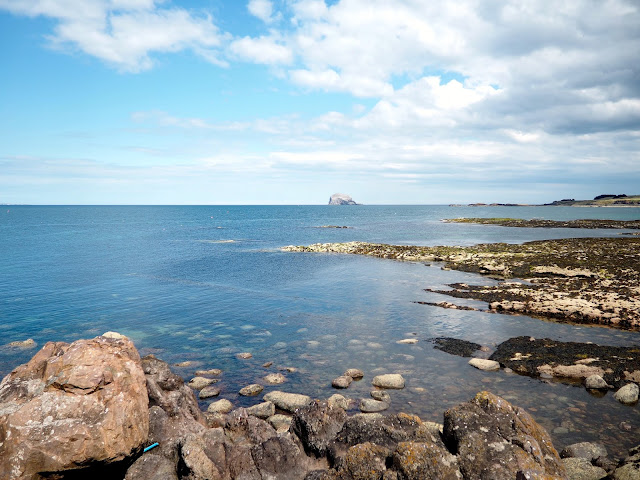 Bass Rock from North Berwick, East Lothian, Scotland