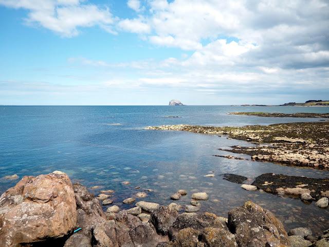 Bass Rock from North Berwick, East Lothian, Scotland