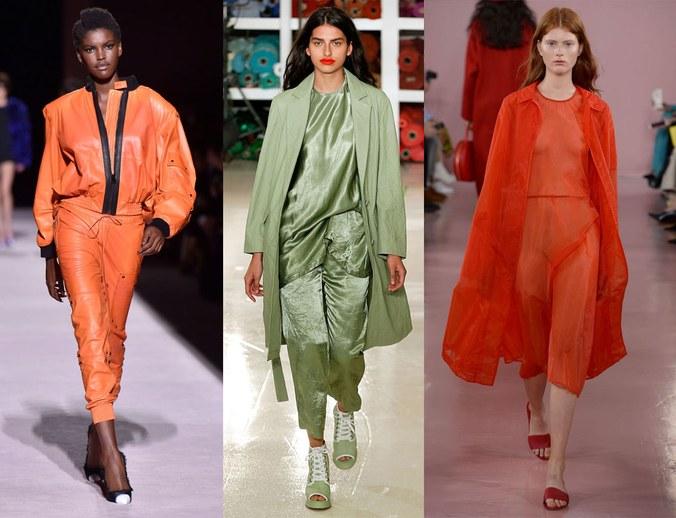 Gaya Outfit Monokromatik Artis pada Trend Fashion Musim Semi 2017