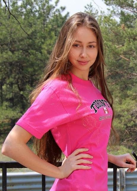 College Russian Model pic, Cute Russian Model photo