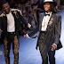 Music meets Modelling!! Superstar Wizkid walks the runway alongside super model Naomi Campbell for Dolce and Gabbana