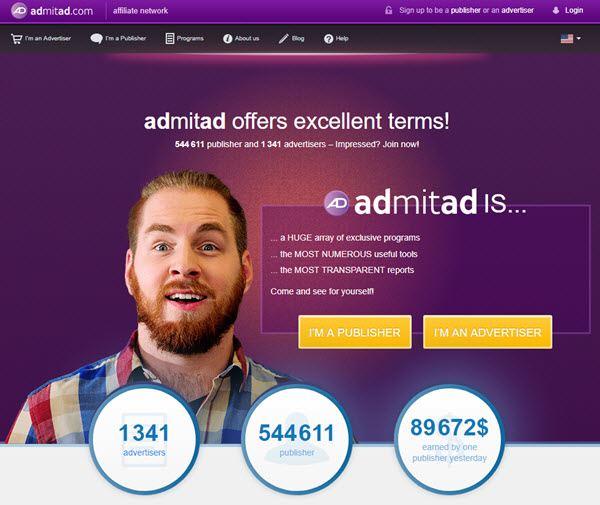 لماذا تعتبر شركة ادميتاد افضل شركة للربح من خلال الانترنت و أفضل شركة CPA على الاطلاق بناءاً على تجربة شخصية و بأكثر من اثبات للدفع و المصدقية Admitad؟