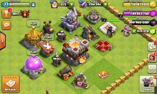 Download Game Clash of Clans FHx V8 Mod Apk Full Hack