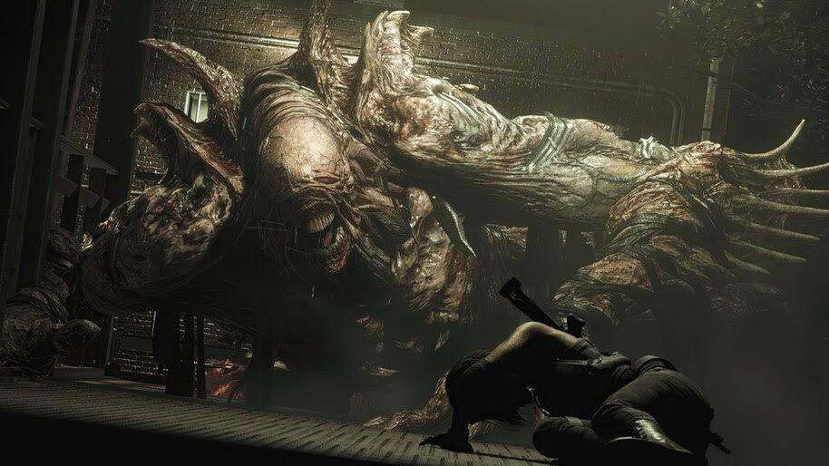 Nemesis Resident Evil 3 Remake 4k Wallpaper 7 1686