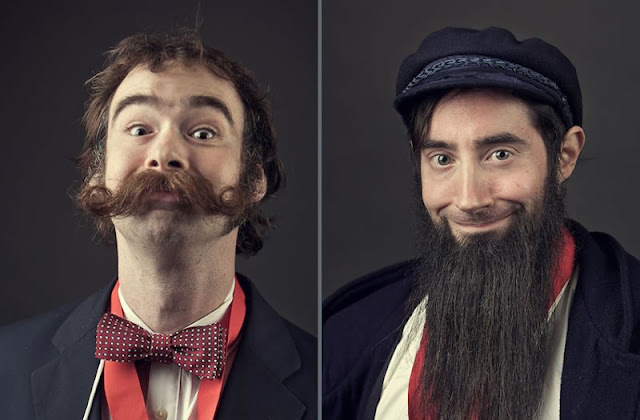 Unik! 15 Foto Orang Yang Mempunyai Kumis dan Janggut Yang Sangat Aneh