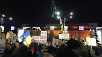 PLANNED CHANGES TO JUDICIAL LAWS, 10,000 PROTEST IN BUCHAREST