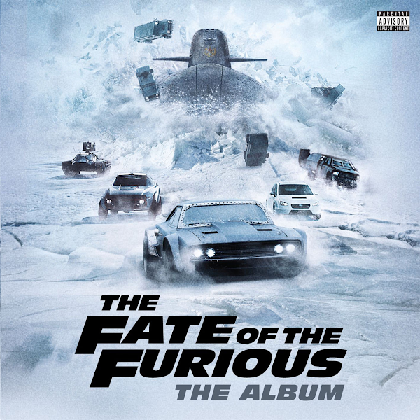 Various Artists - The Fate of the Furious: The Album Cover