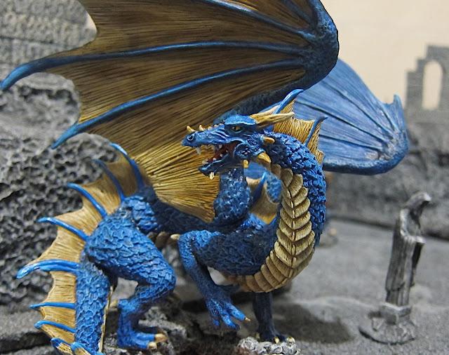 Blightfang Blue Dragon