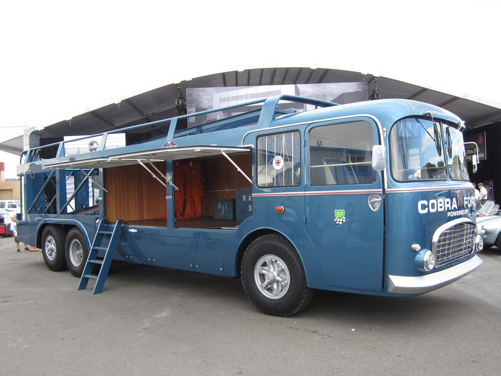 Img on Vintage Race Car Hauler Pictures