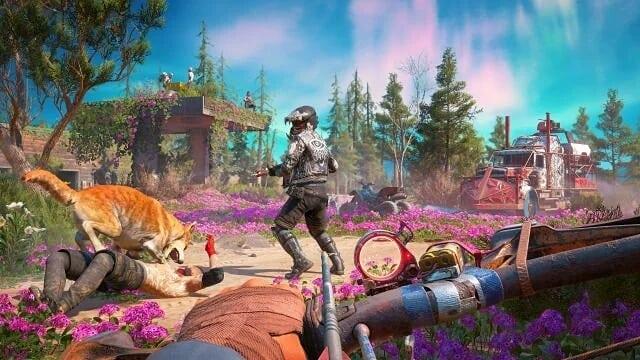 لعبة Far Cry 5 جلبت السياحة الى ولاية مونتانا الامريكية..