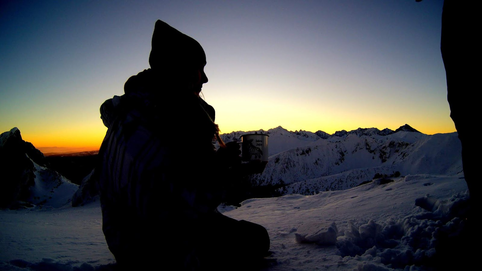 Giewont wschód słońca w Tatrach