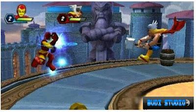 Marvel Super Hero Squad PPSSPP PSP 3
