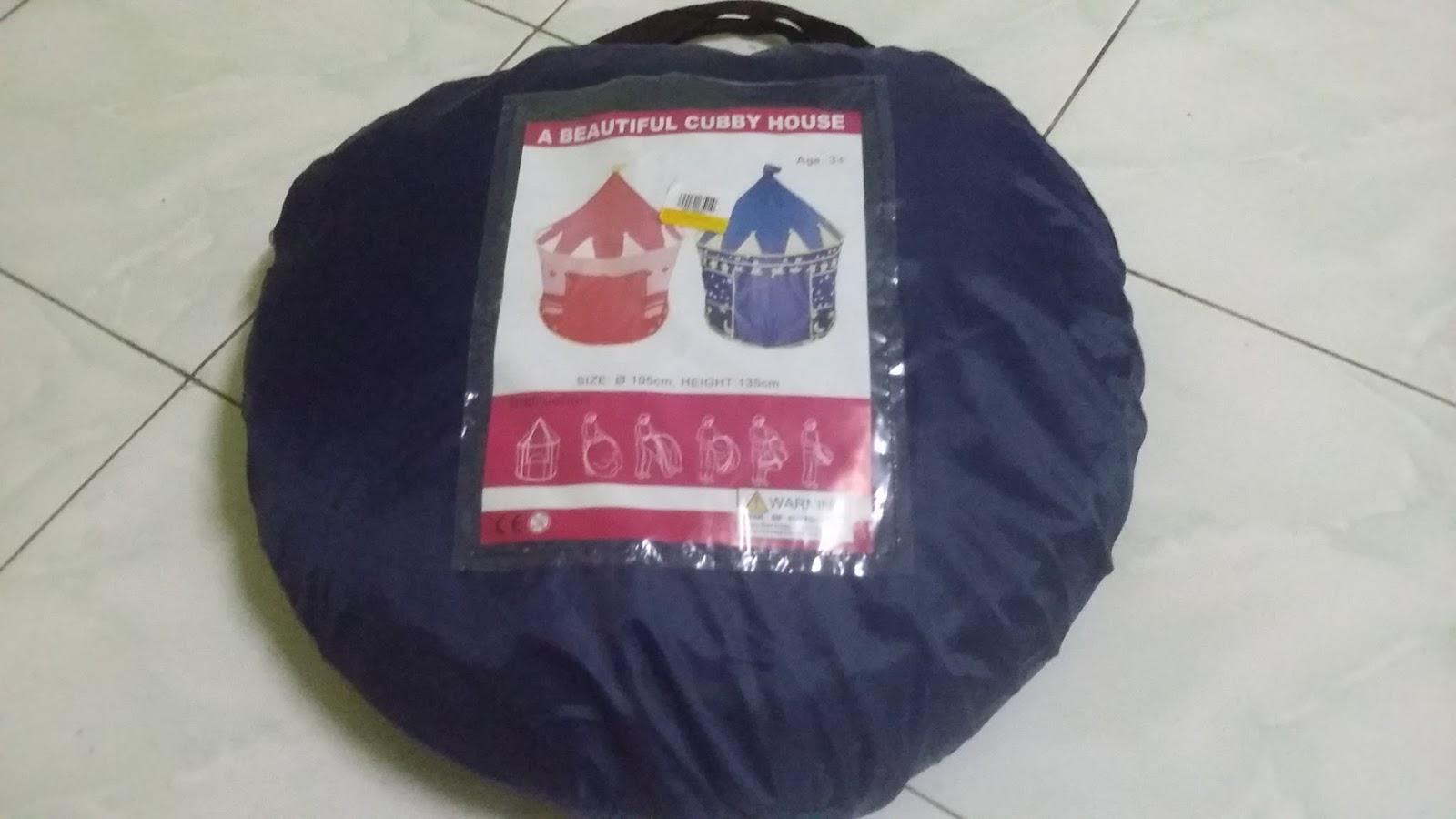 & Castle Tent For Kids Murah