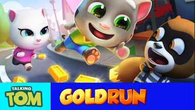 Download Talking Tom Gold Run (MOD, unlimited money) free on android