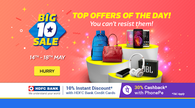 Big10 Sale [Day 4]: 10% Off on HDFC Credit Card | Get MMT Hotel Gift Cards on purchase of 2k & 90% Off sitewide!