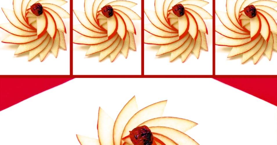 1 sculpture de fruit et l gume comment faire une rosace - Comment faire une rosace ...