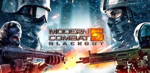 Download Modern Combat 5 Blackout Mod Apk