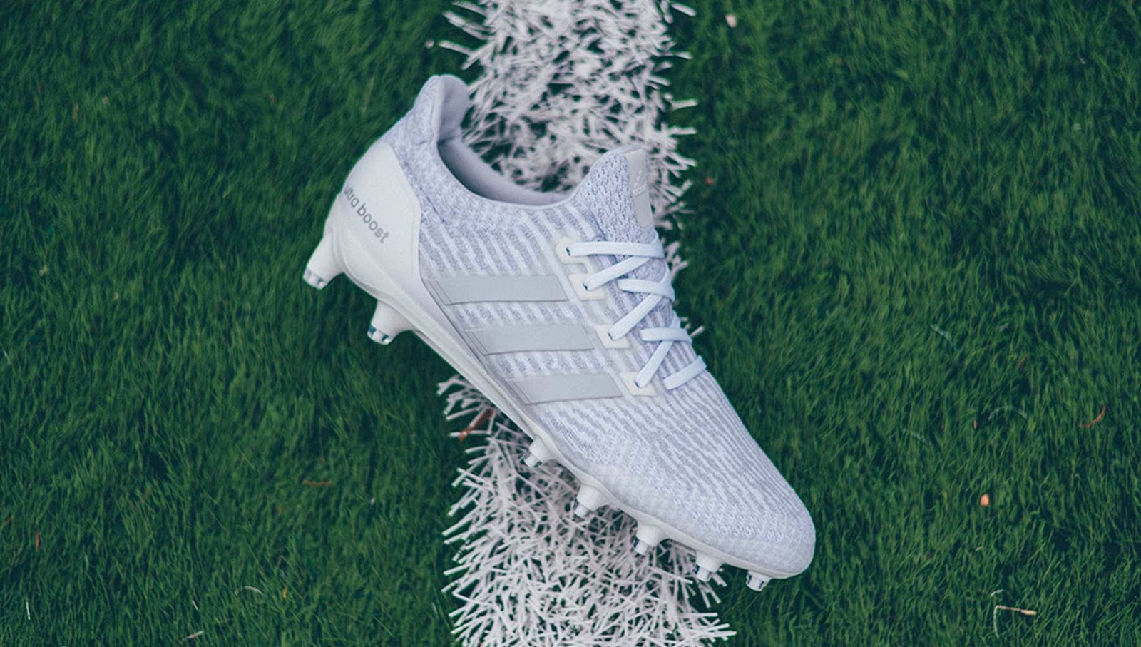 white adidas ultra boost cleats revealed footy headlines. Black Bedroom Furniture Sets. Home Design Ideas