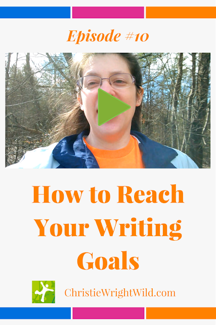 How to Reach Your Writing Goals: Help Someone Else | author advice | writing tips | goals for writers