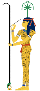 egipska bogini seszat