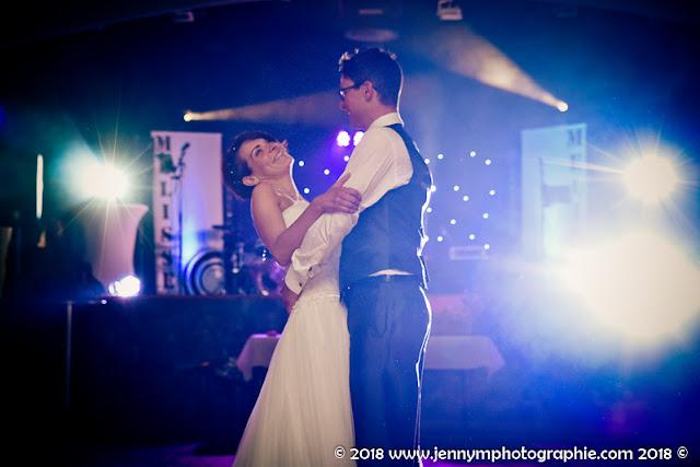 photo ouverture du bal, danse des mariés