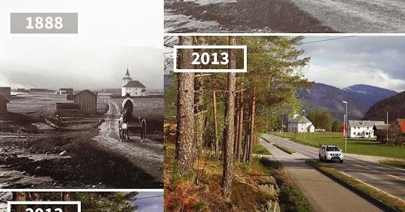 بالصور مدن لم تتغير منذ 100 سنة حتى الآن !