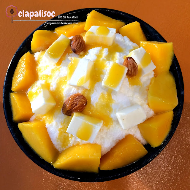Mango and Cheese Bingsu