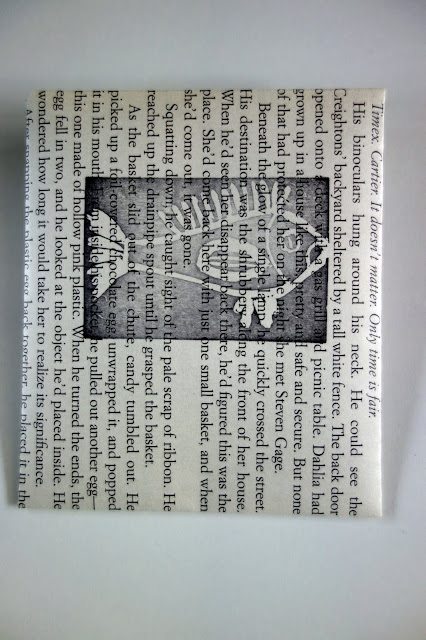 crafts from old books, envelope, envelope made from book pages
