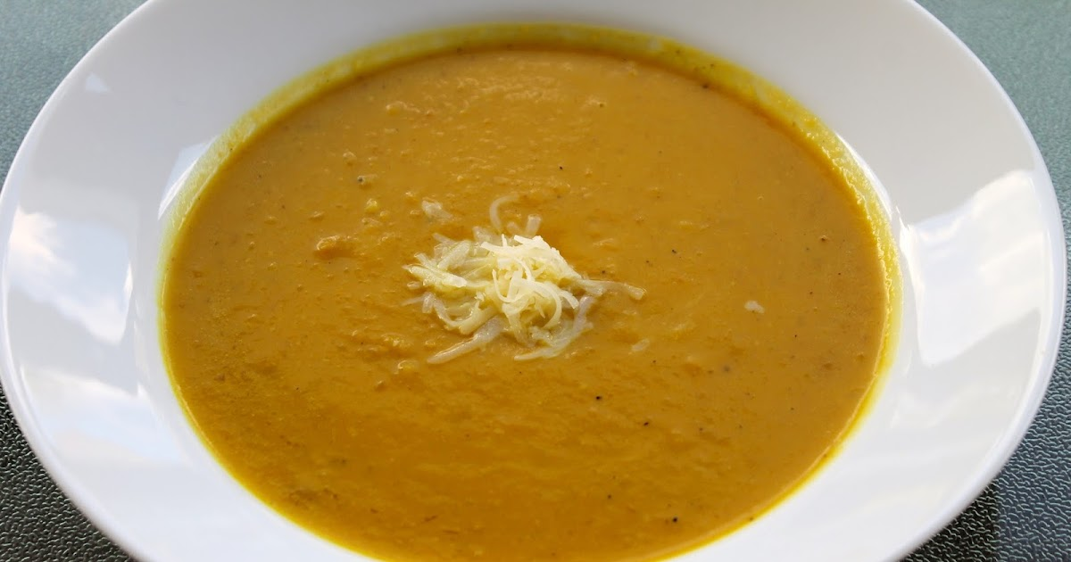 Married to Medicine: Curried Butternut Squash and Pear Soup