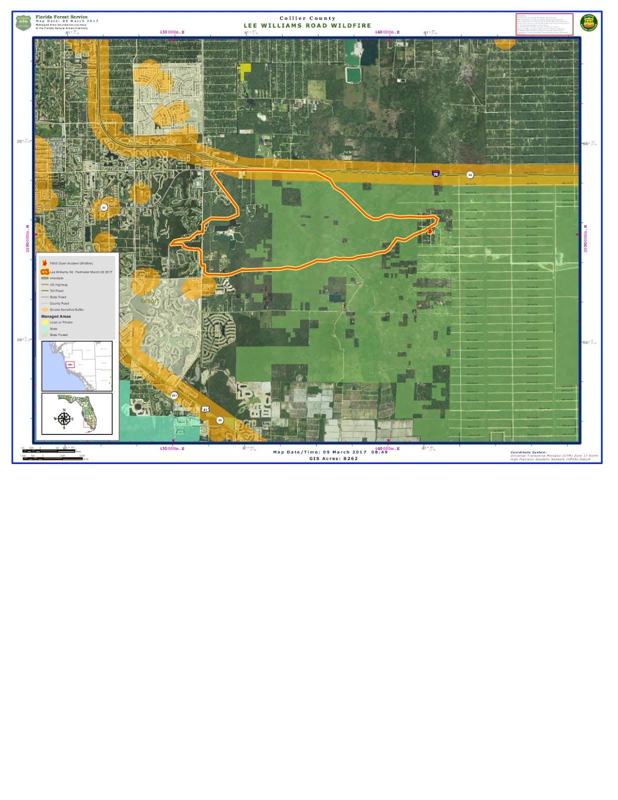 Collier County Wildfire Map.Random Ramblings Aerial Wildland Firefighting March 2017