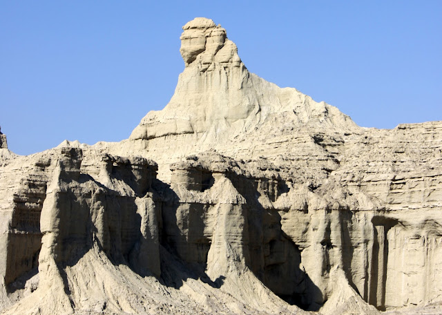 The Balochistan Sphinx inside the Hingol National Park.
