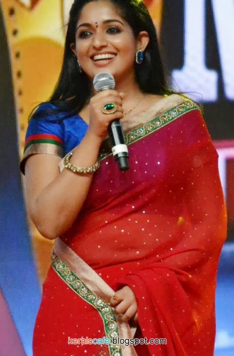Actress Kavya Madhavan Hot In Saree