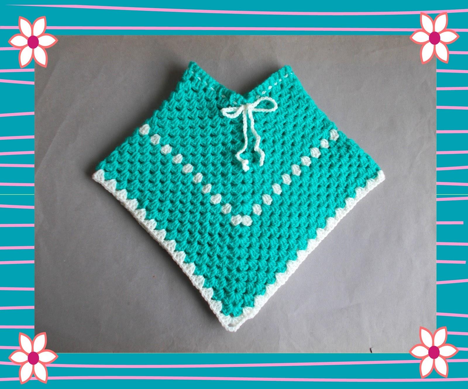 Marianna\'s Lazy Daisy Days: Easy Crochet Poncho