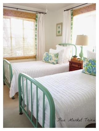 Beach Cottage Twin Bedroom