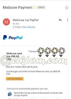 Jom Buat Duit USD | Terima bayaran Keempat