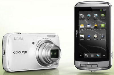 Nikon Coolpix Android S800c Camera