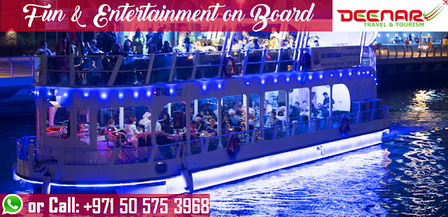 dubai dhow cruise offers, deenartravel, yacht services