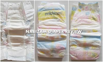 Nabizam, diaper, review