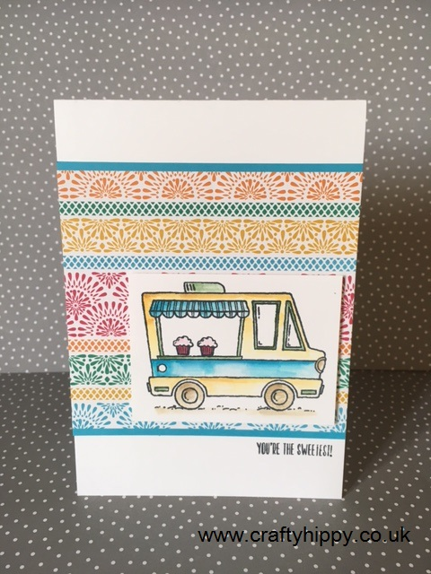 Tasty Trucks Cards, Stampin' Up!,