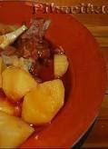 Guiso de Morcón con patatas