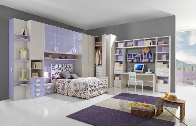 Id e d co chambre ado fille moderne - Chambre moderne ado ...