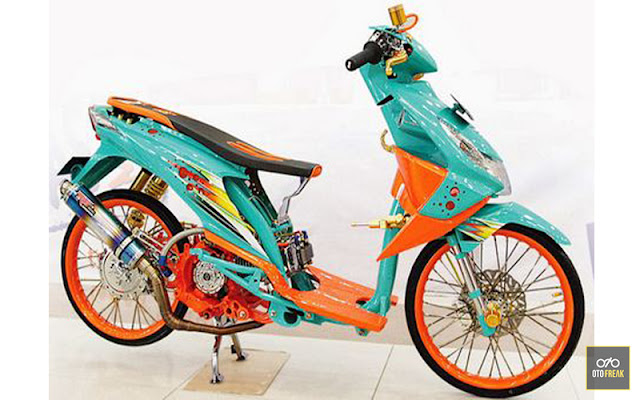 honda beat drag 200cc